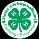 States' 4-H International Exchange Program logo